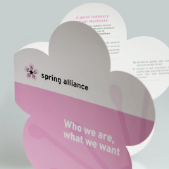 Logo and leaflet 'Spring Alliance'